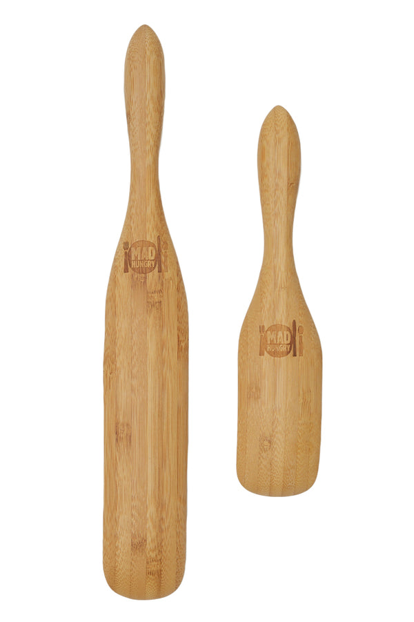 2-Piece Bamboo Spurtle Set by Mad Hungry