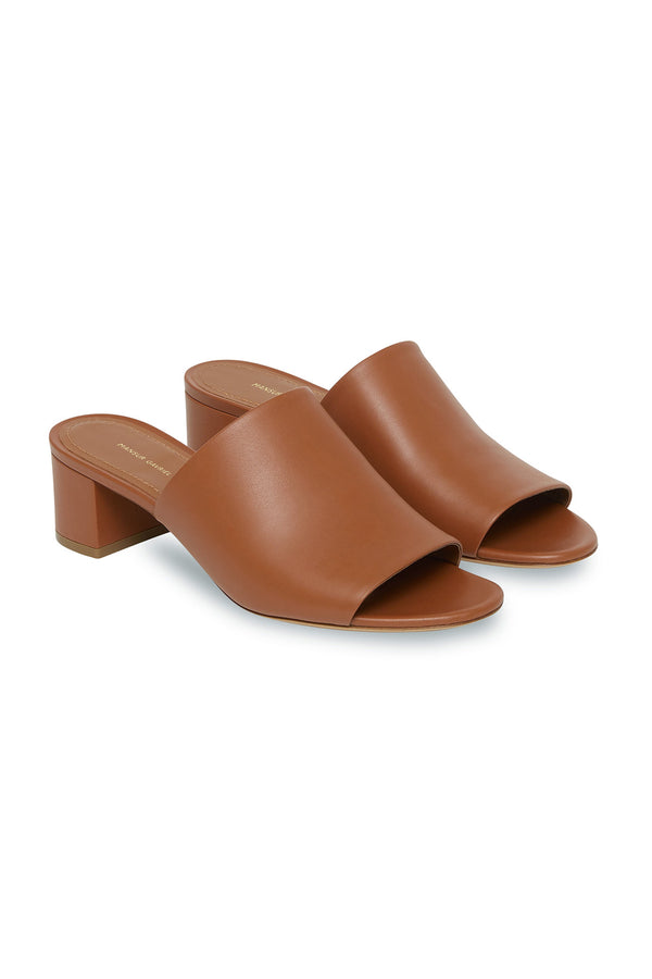 Saddle Leather Mule by Mansur Gavriel