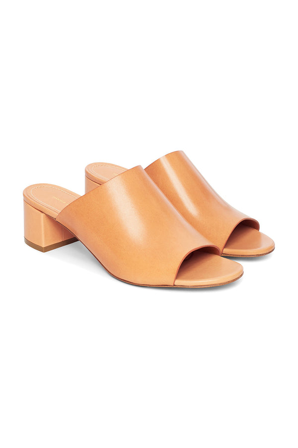 Camel Leather Mule by Mansur Gavriel