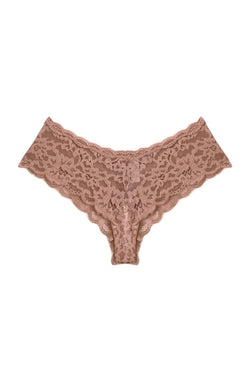 Charlotte Lace Seamless Cheeky