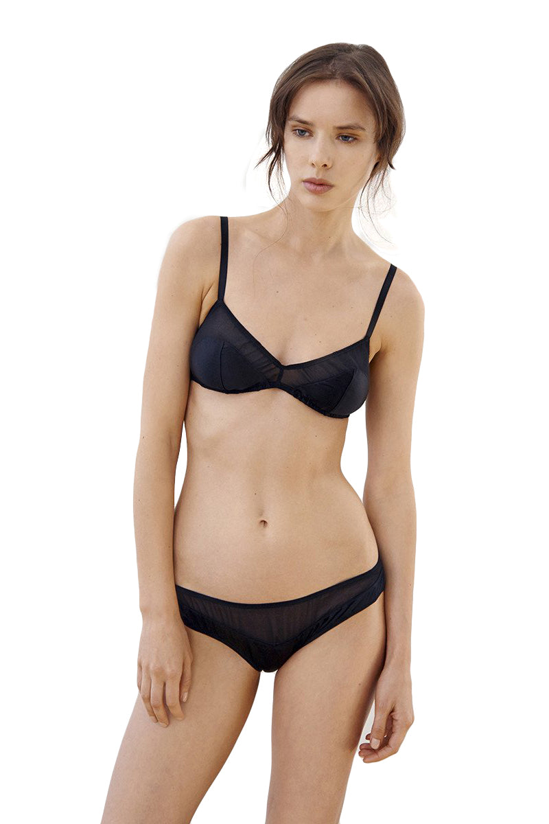 Black Beatrice bralette by Araks