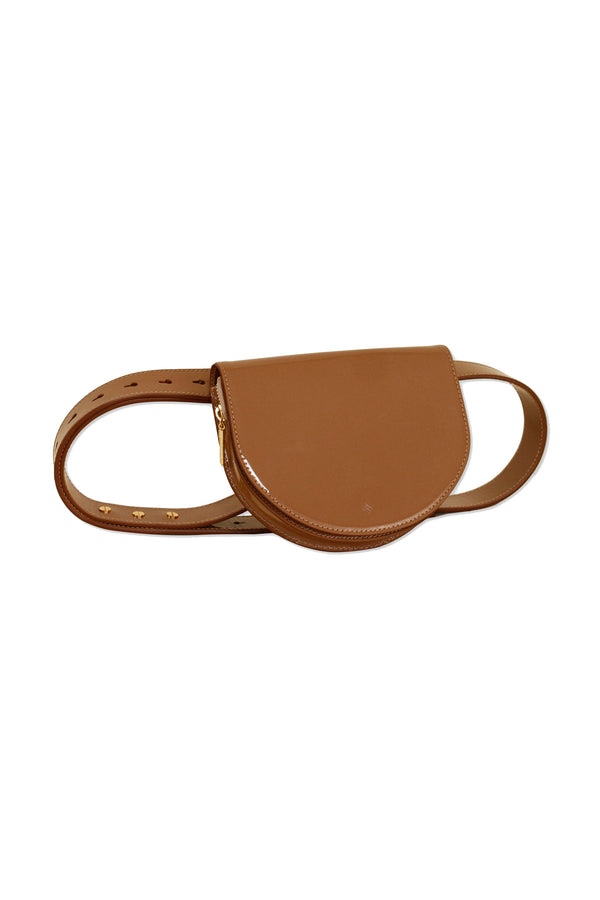 Amber Palmetto Mini Belt Bag by ASHYA