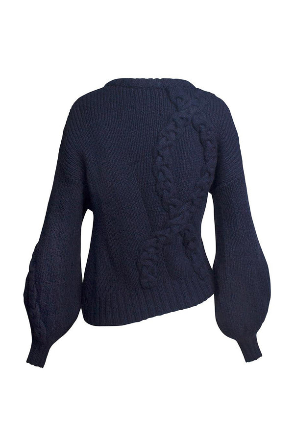 Cecilia Navy Sweater by Alejandra Alonso Rojas