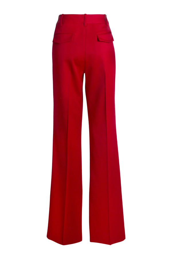 Juliana Trouser in Red by Alejandra Alonso Rojas