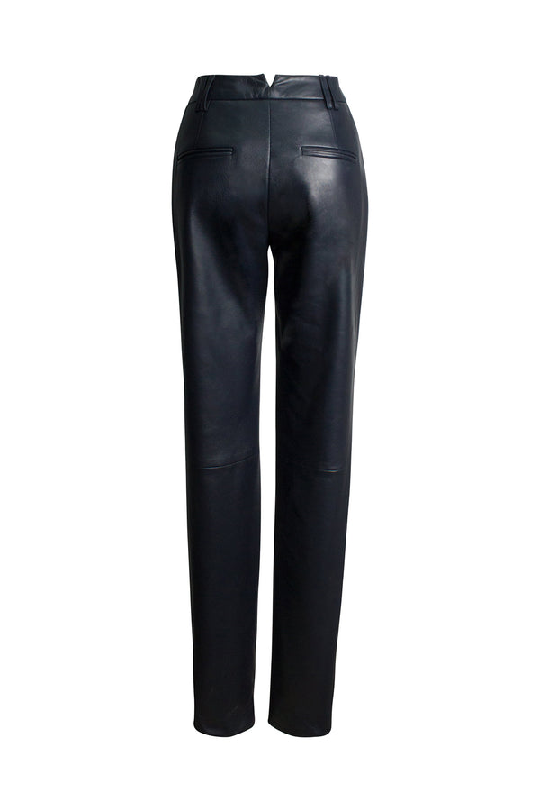 Valentina Deep Night Navy Trousers by Alejandra Alonso Rojas