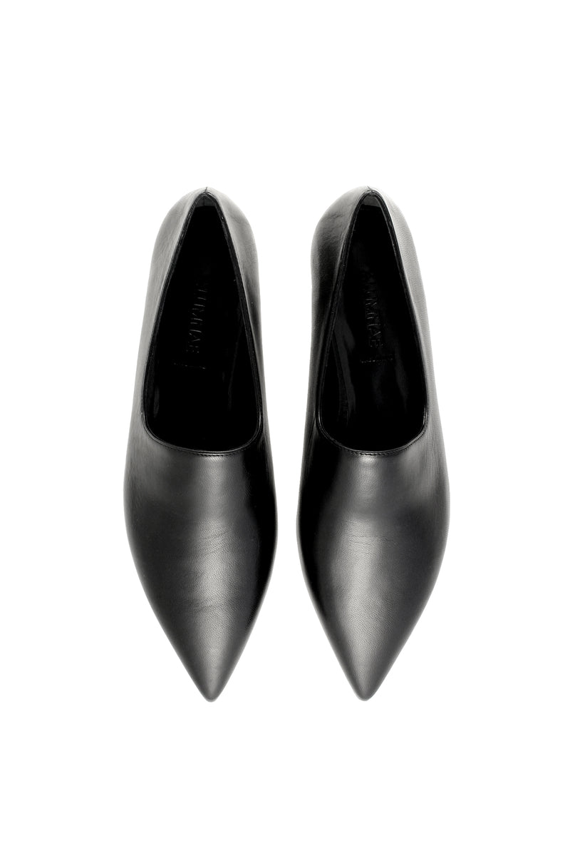 High Vamp Pointed Flat