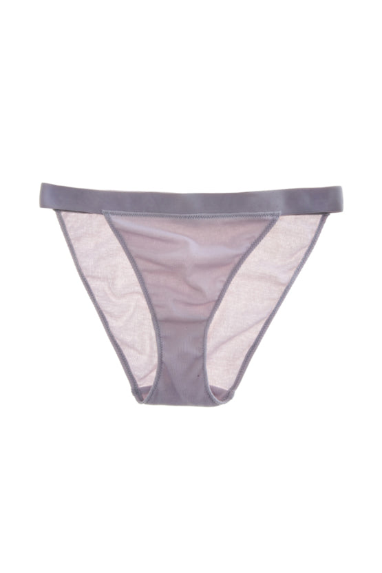 Lavender cotton ribbed Jonah panty by Araks