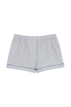 Grey-blue cotton boxer Tia short by Araks