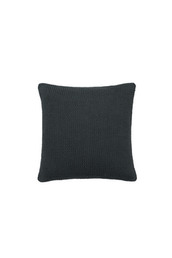 Alhambra Hand Knit Cotton Pillow in Midnight Blue by Sien + Co