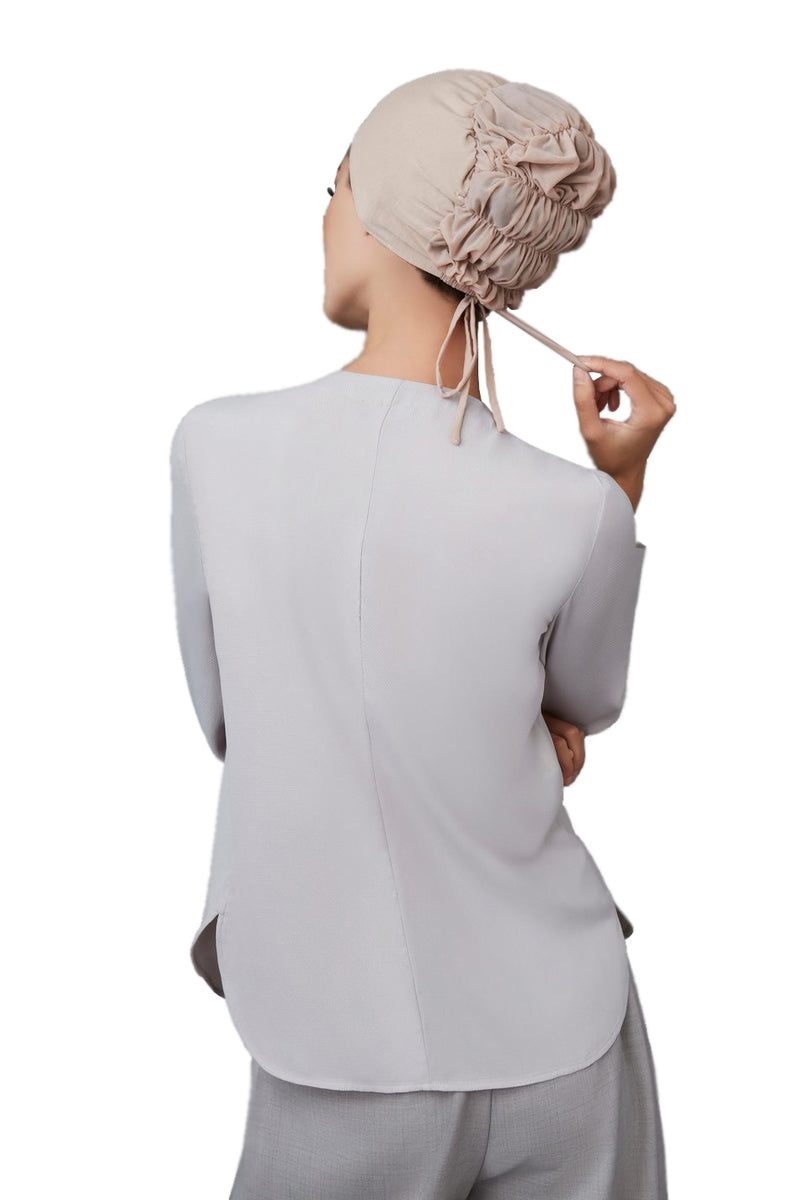 Grey Classic Underscarf by Haute Hijab