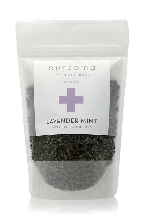 Lavender Mint, After Bath Bedtime Tea | Pursoma