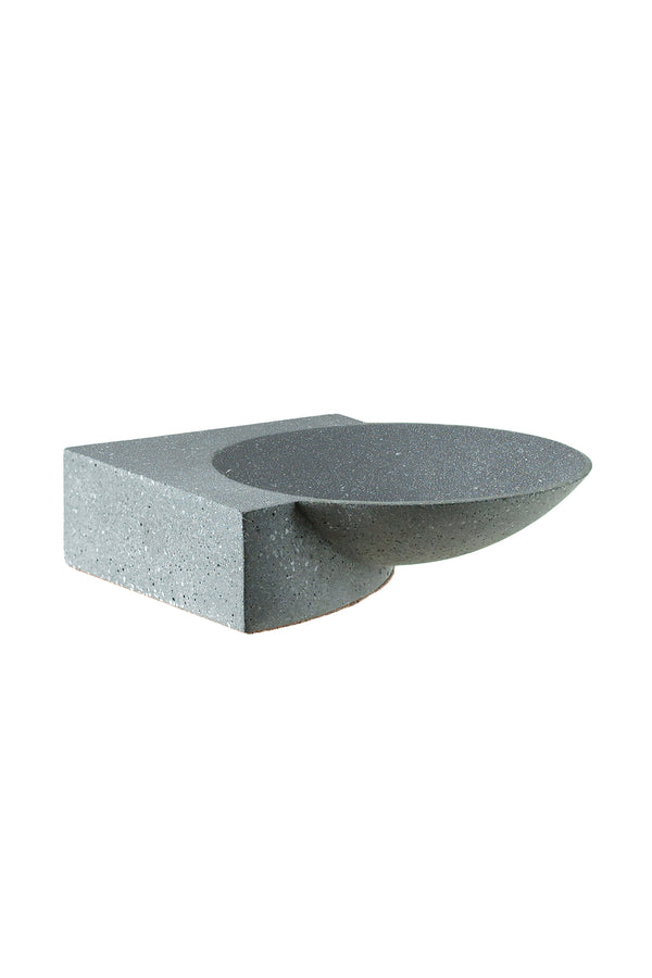 Platform Bowl in Graphite | Tortuga Living