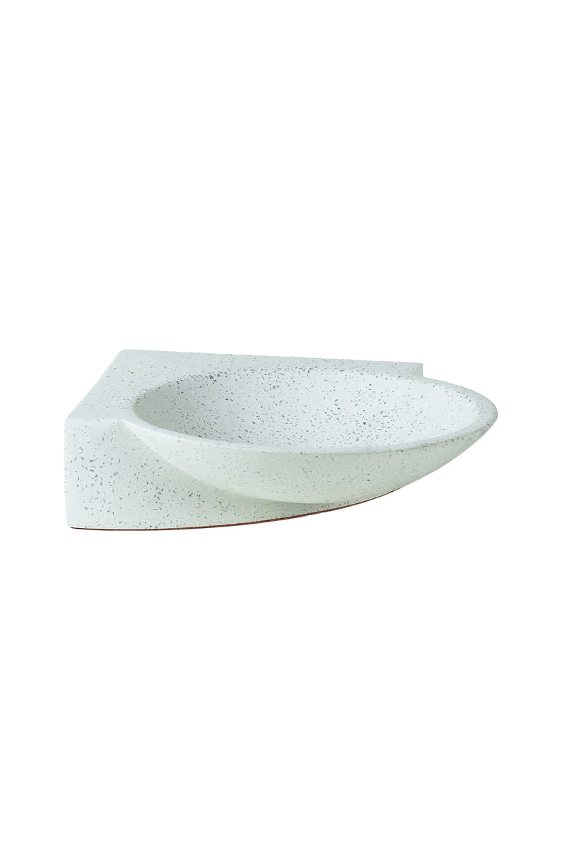 Platform Bowl in White | Tortuga Living