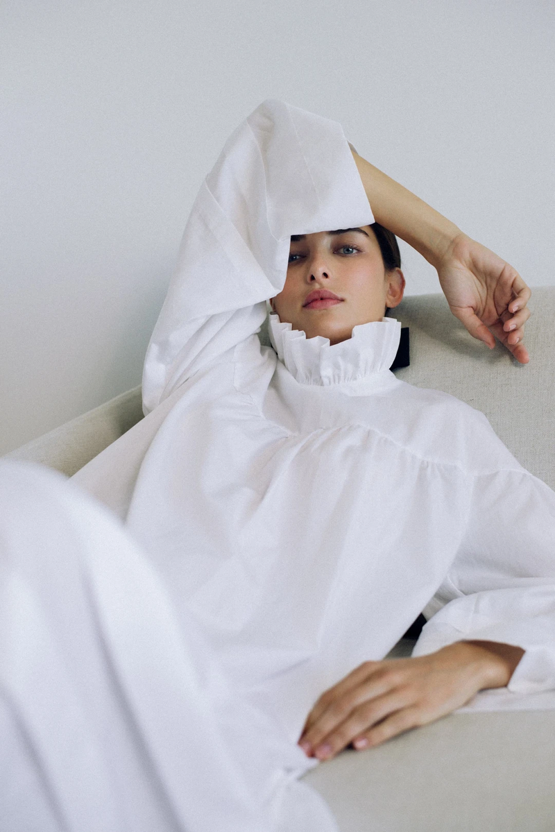Lydia Nightgown in Milk | Campo Collection