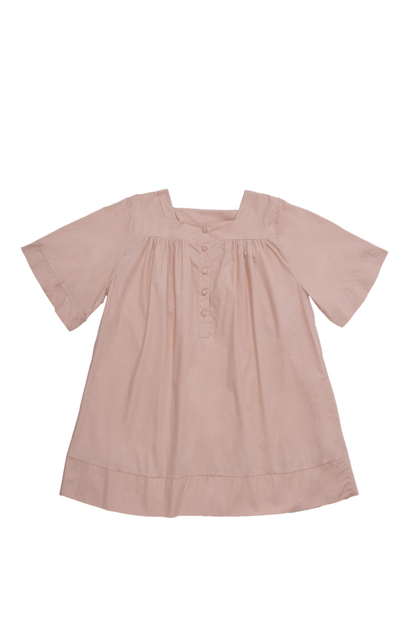 Vitoria Nightgown in Dusty Pink | Campo Collection