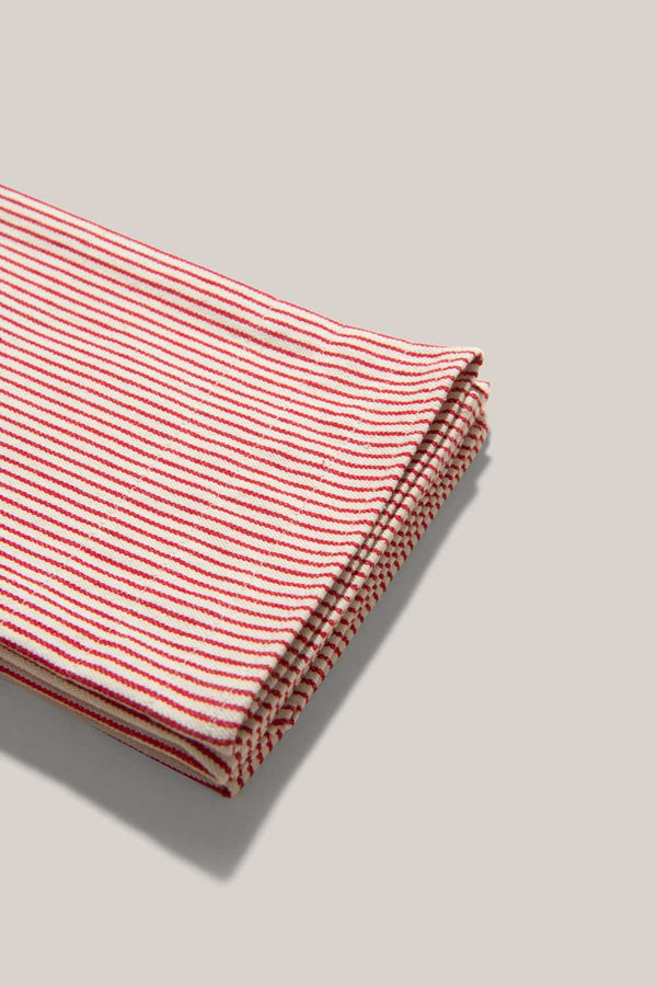 Candy Stripe Tea Towels (Set of 2) | Atelier Saucier