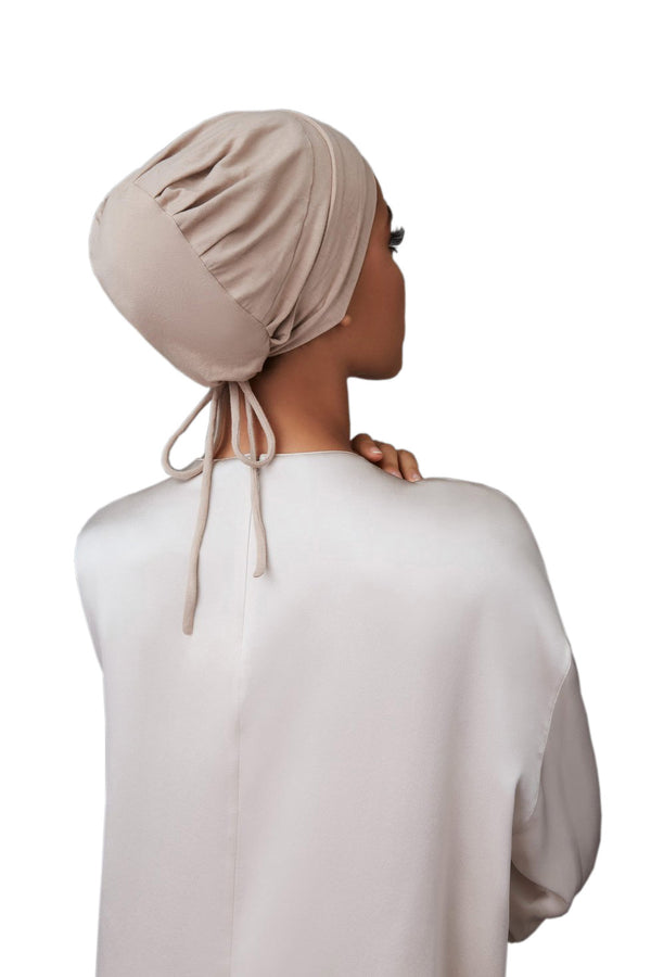 Criss-Cross Underscarf in Mink by Haute Hijab