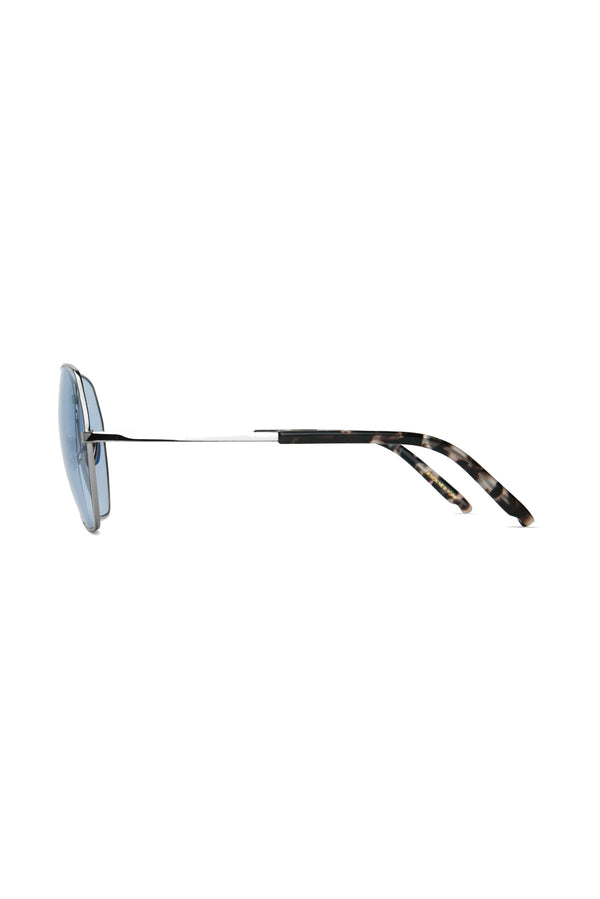 Silver and violet Avatar 102 Sunglasses by Coco and Breezy