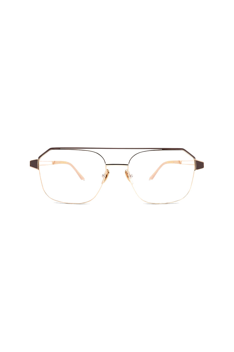 Rose gold geometric Gratitude 102 Glasses by Coco and Breezy