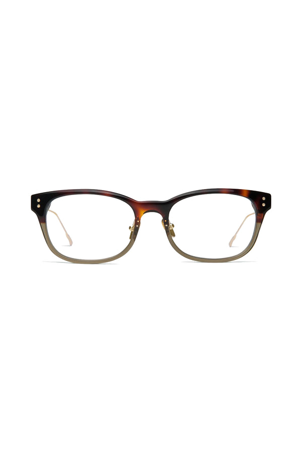 Green and tortoise Immortal 102 Glasses by Coco and Breezy