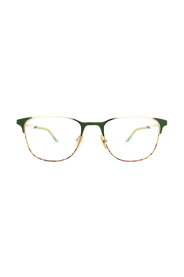 Green and gold Warrior 102 Glasses by Coco and Breezy