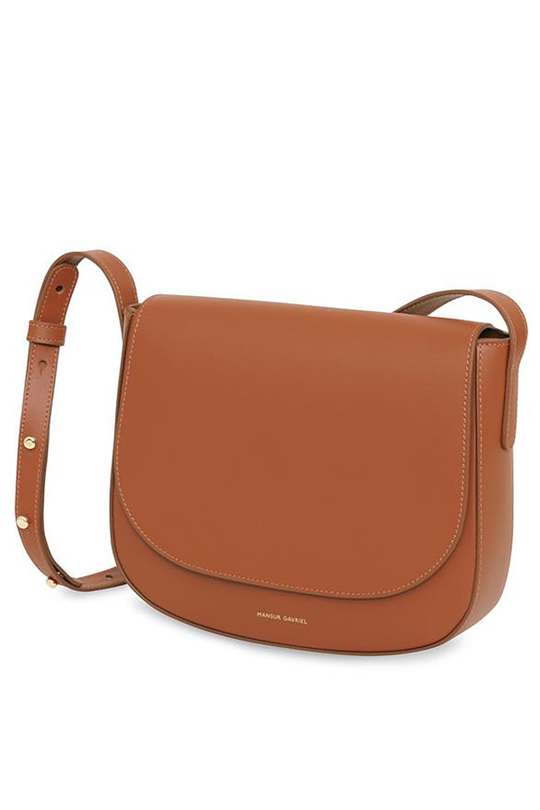 Calf Crossbody in Ginger