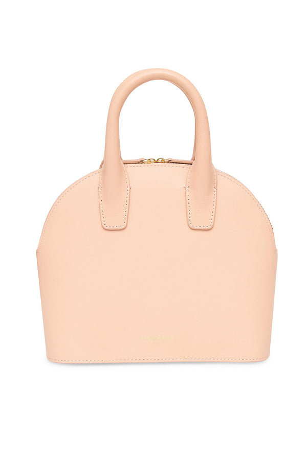 Rosa Leather Mini Top Handle Bag by Mansur Gavriel