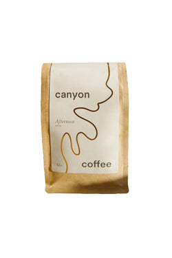 Bag of Afternoon Decaf Coffee by Canyon Coffee