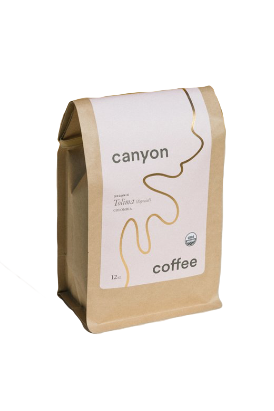 Bag of Tolima Especial Colombia Blend from Canyon Coffee