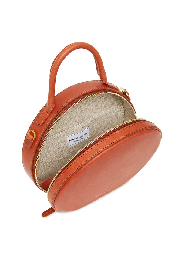 Brandy Thin Circle Crossbody Bag by Mansur Gavriel