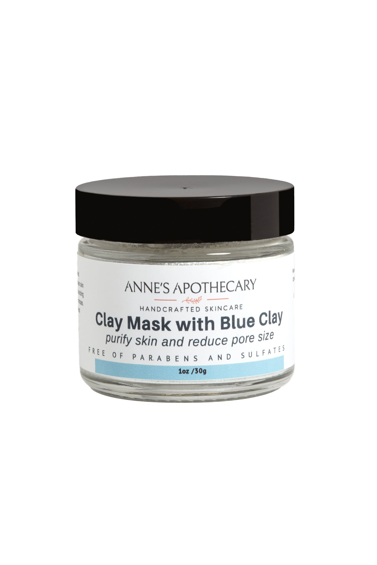 Clay Mask with Blue Clay