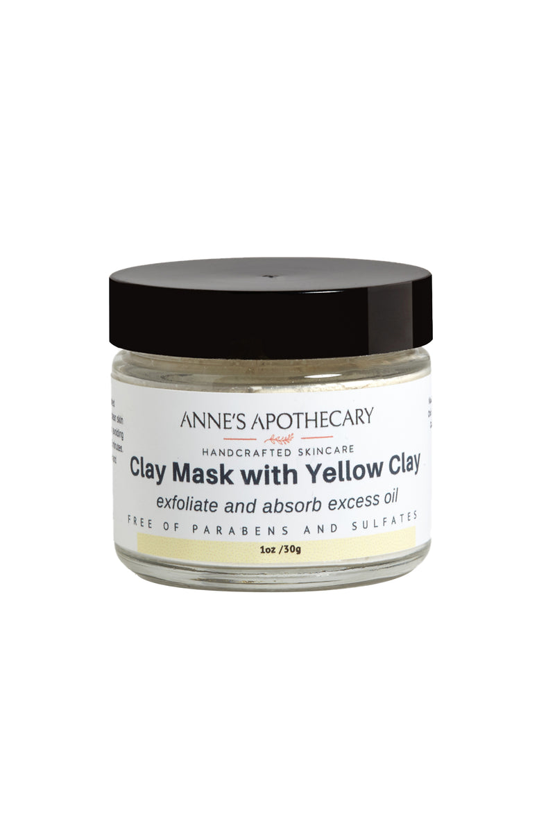 Clay Mask with Yellow Clay