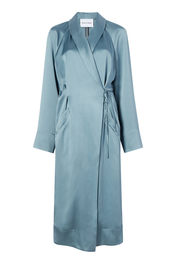 Sara Coat in Smoky Blue by Michelle Waugh