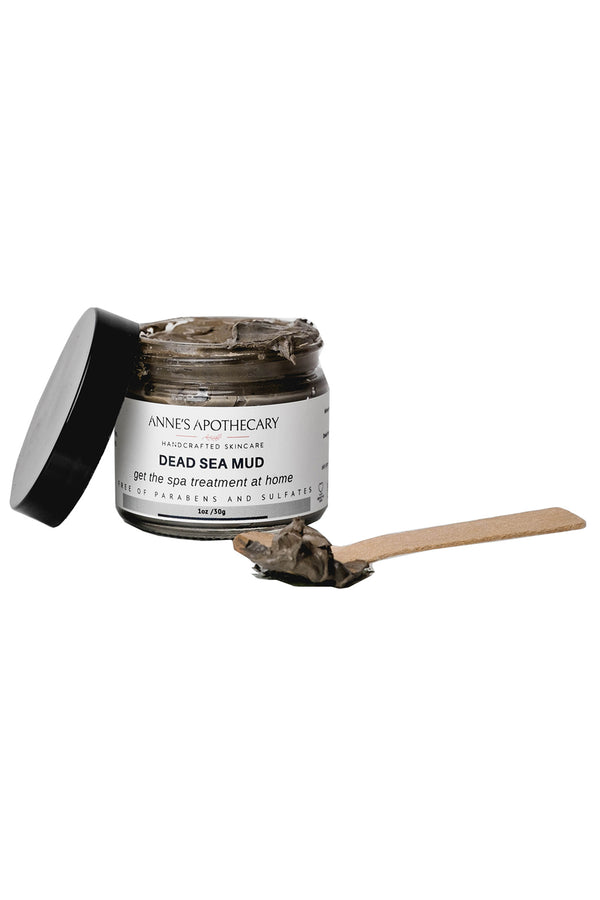Jar of Anne's Apothecary Dead Sea Mud Facial Treatment