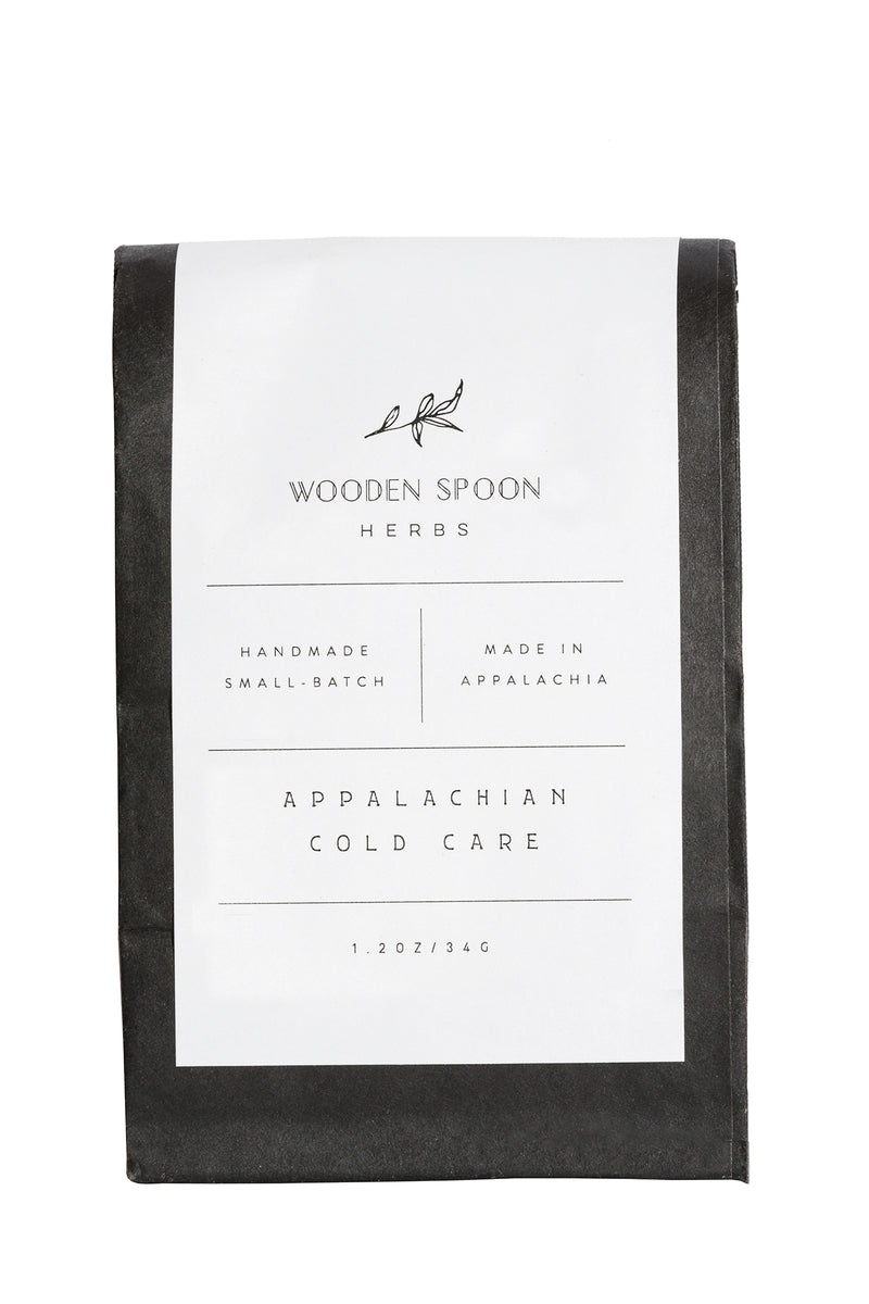 Appalachian Cold Care Tisane by Wooden Spoon Herbs