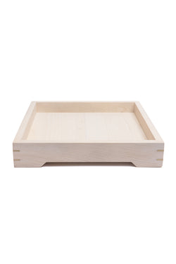 Small magnolia wood serving tray