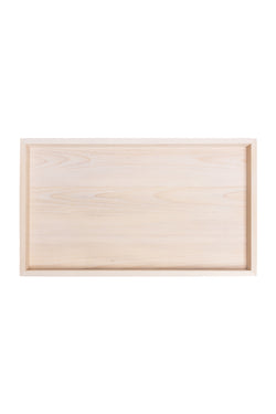 Magnolia wood serving tray