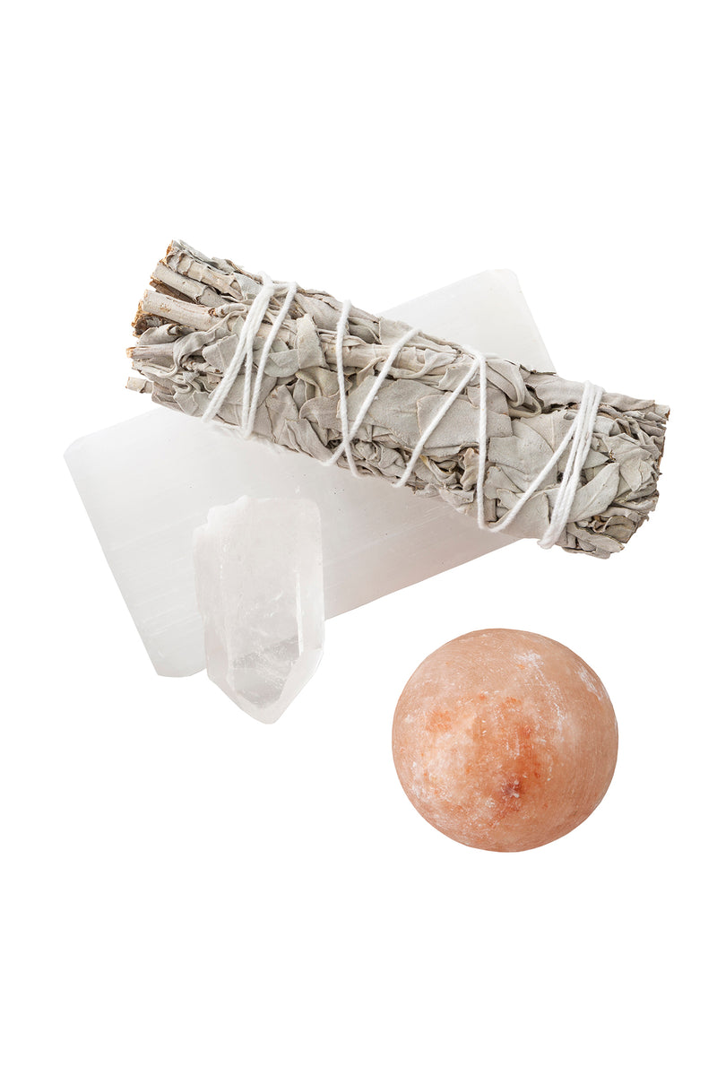 Clear Home Crystal Clearing Set by The Cristalline