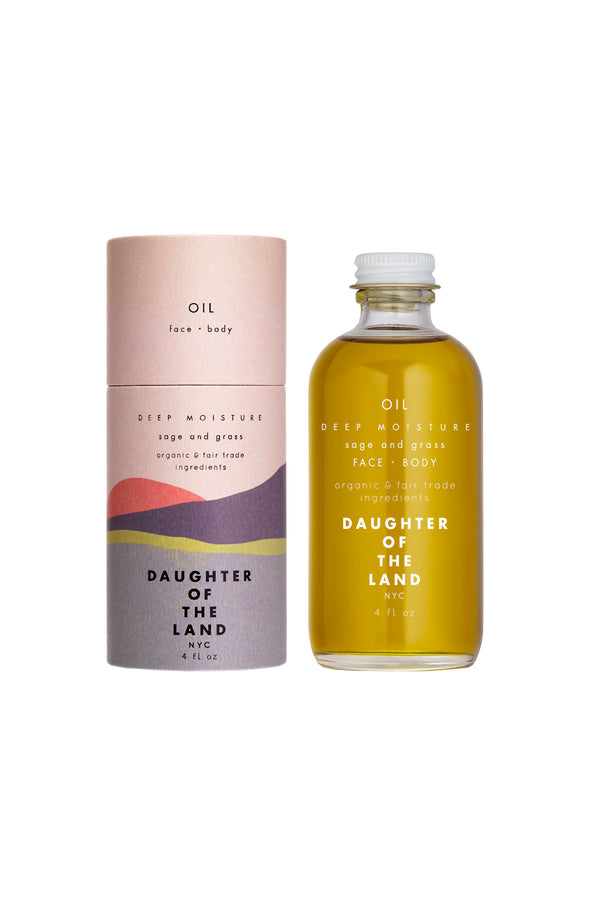 Deep Moisture Body & Face Oil by Daughter of the Land