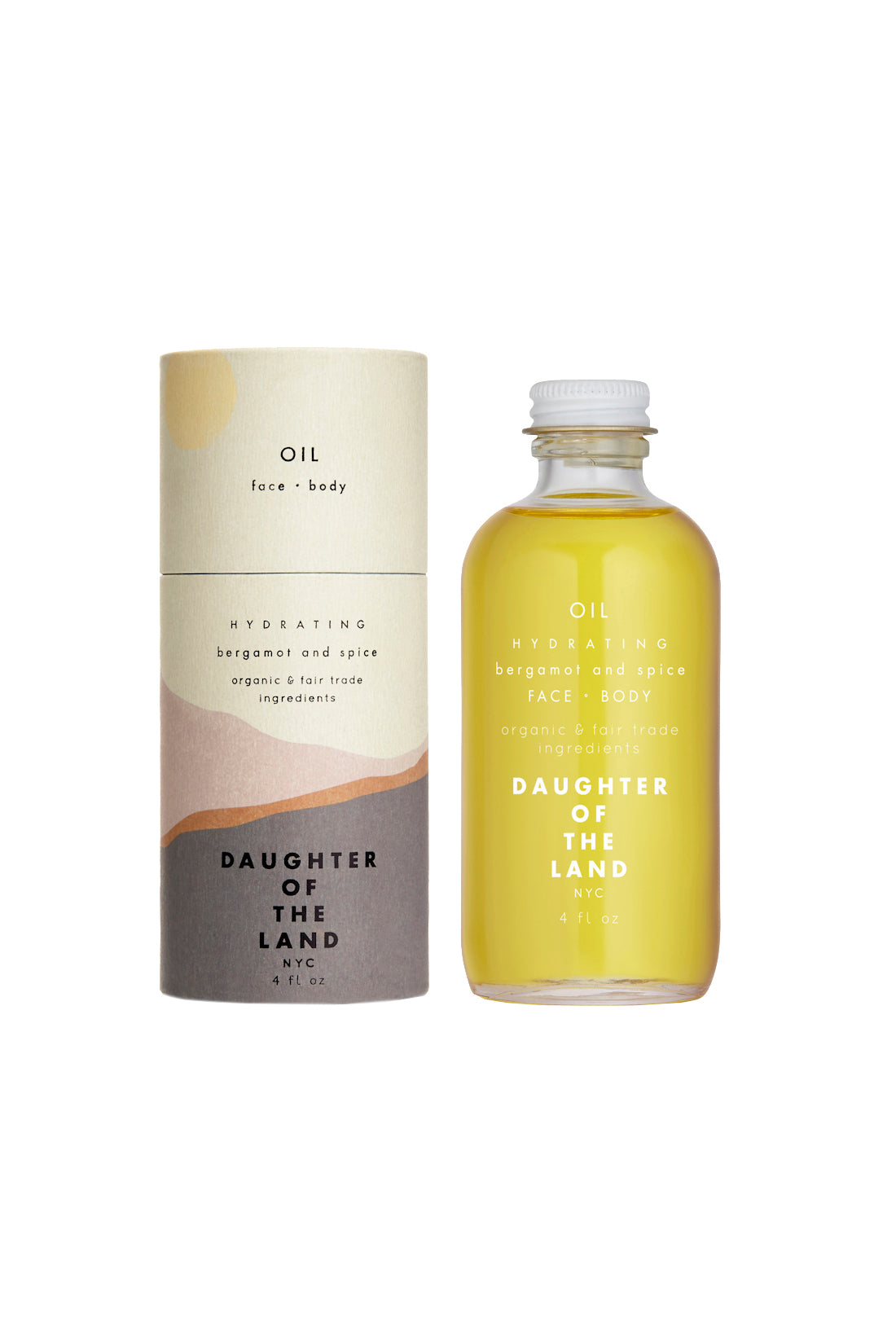 Hydrating Face & Body Oil