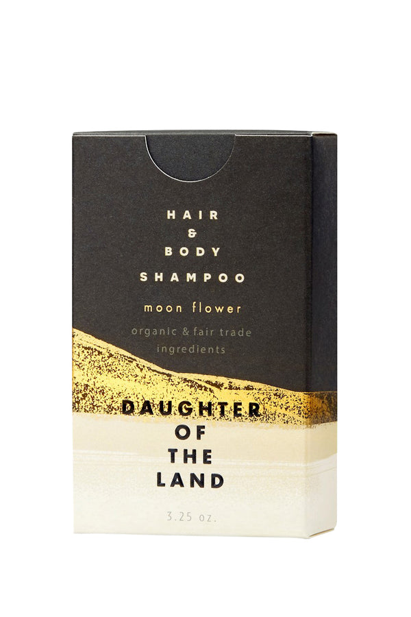 Moon Flower Shampoo Bar by Daughter of the Land
