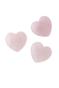 Rose Quartz Heart by The Cristalline