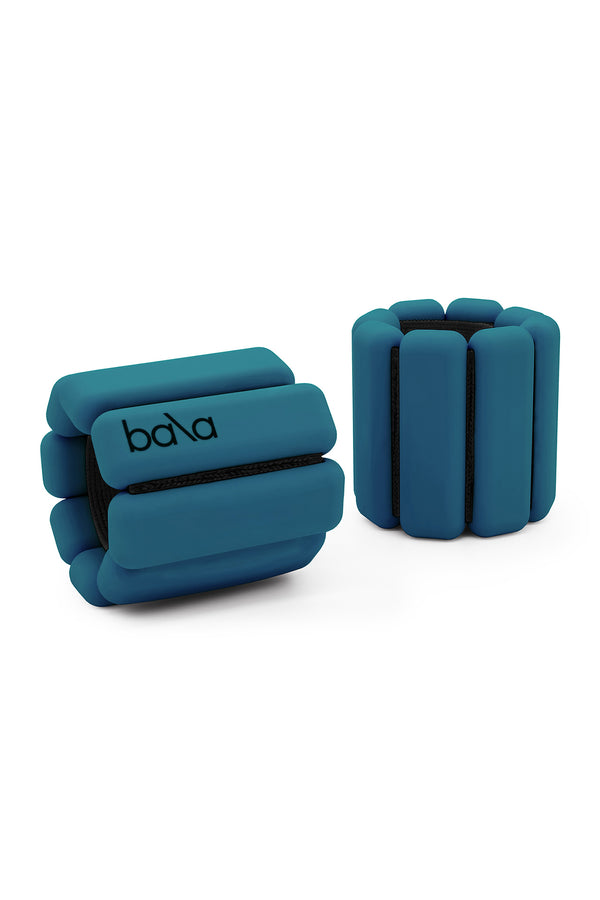 Dark blue wearable weights by Bala Bangles