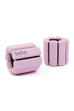 Light pink wearable weights by Bala Bangles