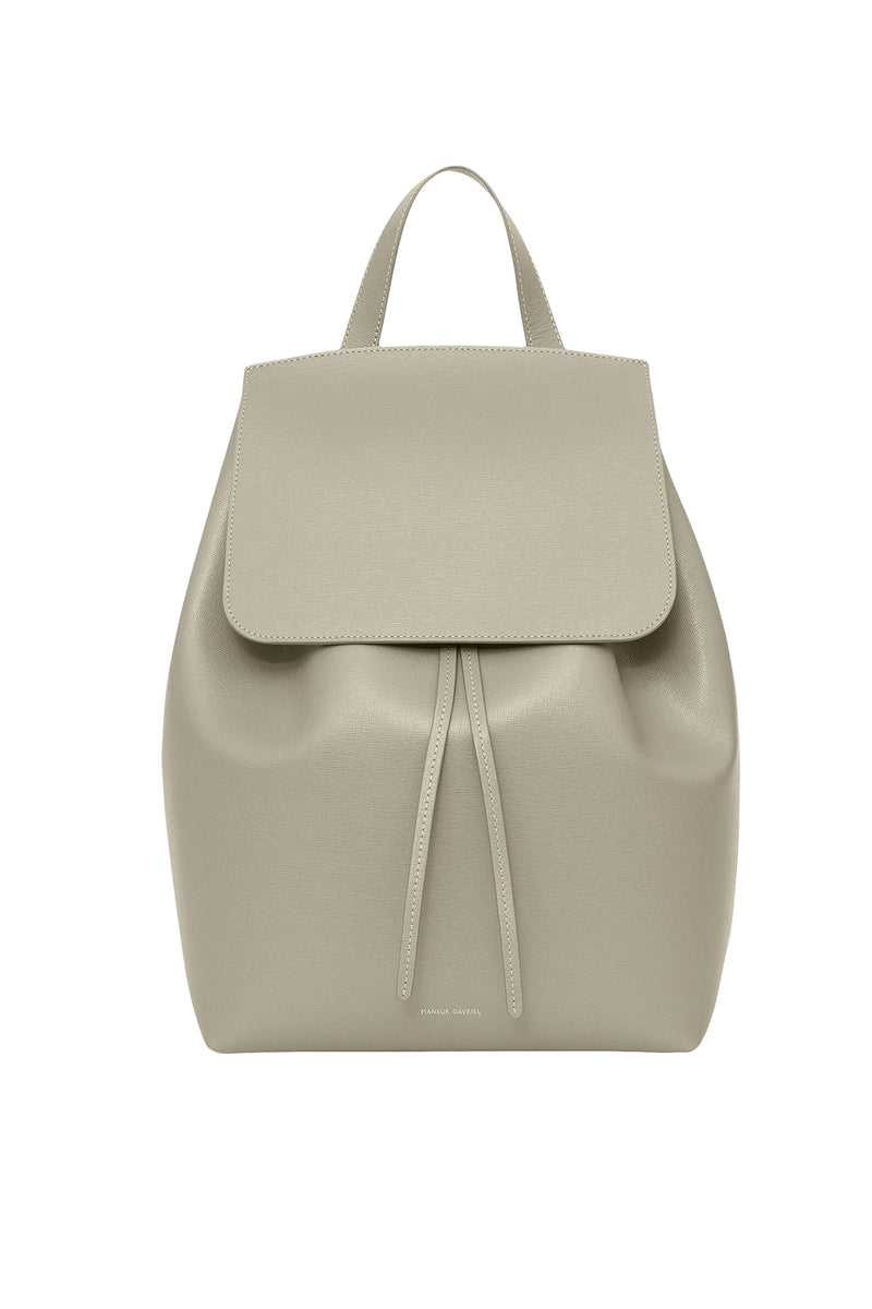 Saffiano Backpack in Elefante