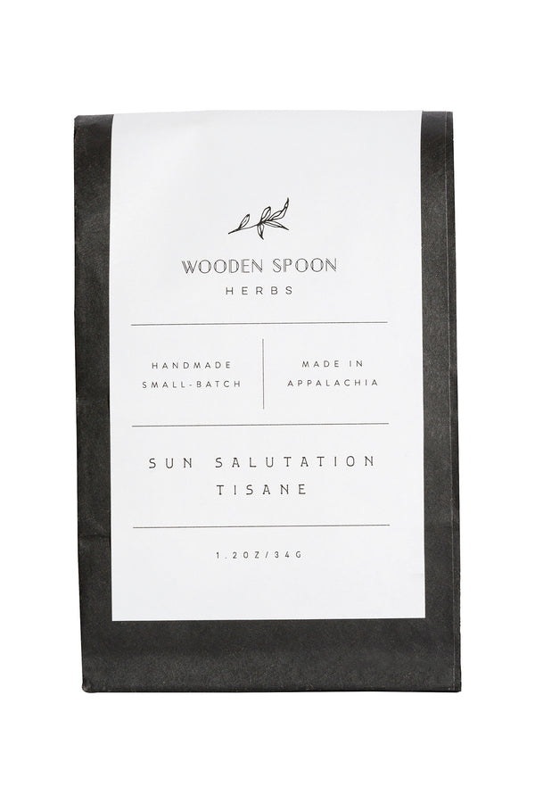 Sun Salutation Tisane by Wooden Spoon Herbs