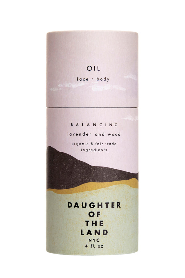 Balancing Face & Body Oil by Daughter of the Land