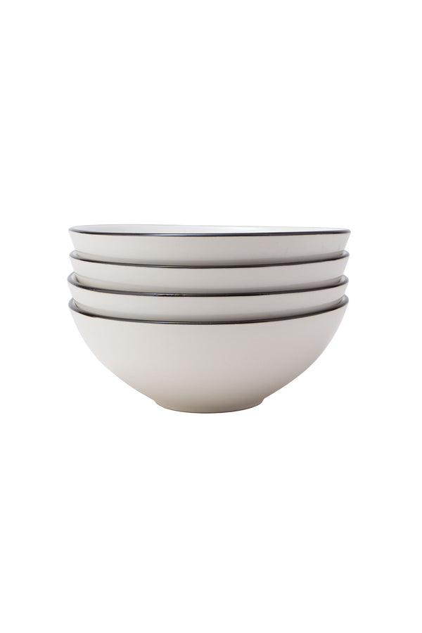 Damek Charcoal Line Bowls by Hudson Wilder