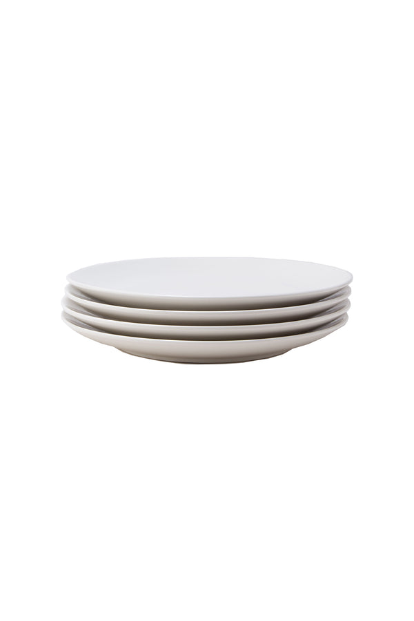 Damek White Large Plates by Hudson Wilder
