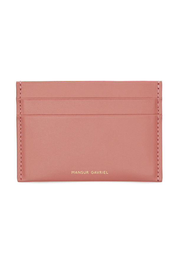 Blush Four-Slot Credit Card Holder by Mansur Gavriel